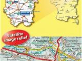 Michelin Road Maps Europe 306 Aisne Ardennes Marne Cycle Path Route Maps