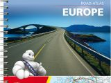Michelin Road Maps Europe Michelin Road atlas Europe
