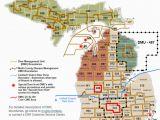 Michigan Adventure Map Dnr Dmu Management Info