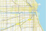 Michigan Ave Chicago Map 12 Route Time Schedules Stops Maps