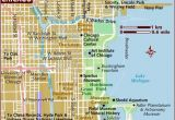 Michigan Ave Chicago Map Map Of Chicago