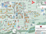 Michigan College Map Oxford Campus Maps Miami University