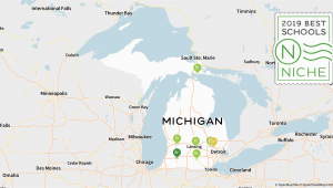 Michigan Colleges Map 2019 Best Online High Schools In Michigan Niche