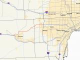 Michigan County Map with Roads M 14 Michigan Highway Wikipedia