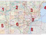 Michigan County Map with Roads Mdot Detroit Maps