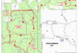 Michigan Dnr Maps Denton Creek Trail and Route East Mi Dnr Avenza Maps