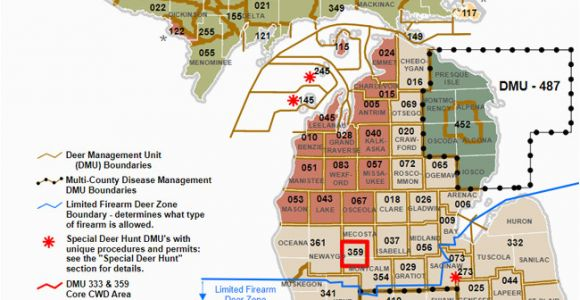 Michigan Dnr Maps Dnr Dmu Management Info