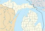 Michigan Dot Map List Of Michigan State Parks Revolvy