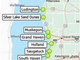 Michigan Dunes Map 32 Best Lake Michigan Vacation Images On Pinterest Michigan Travel