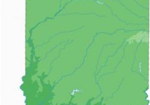 Michigan Elevation Map 51 Best Topographical State Maps Images Blue