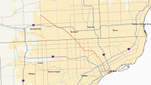 Michigan Highways Map M 10 Michigan Highway Wikipedia