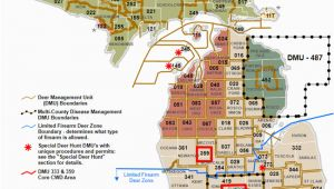 Michigan Hunting Zones Map Dnr Dmu Management Info