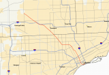 Michigan Interstate Map M 10 Michigan Highway Wikipedia