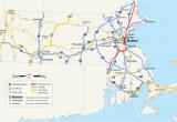 Michigan Interstate Map U S Route 1 In Massachusetts Wikipedia