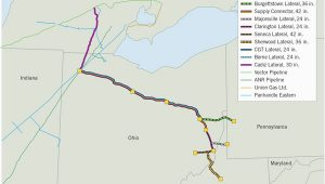 Michigan Natural Gas Pipeline Map Pipeline Construction Plans Shrink Oil Gas Journal