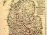 Michigan Railroad Map 388 Best Railroad Maps Images On Pinterest In 2019 Maps Railroad