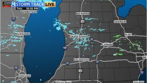 Michigan Road Conditions Map Radar Satellite