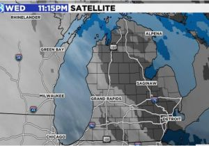 Michigan Satellite Weather Map Stormy Weather To Lash Northeast With