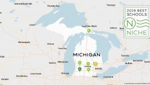 Michigan School Districts Map 2019 Best Online High Schools In Michigan Niche