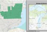 Michigan Senate District Map Michigan S Congressional Districts Revolvy