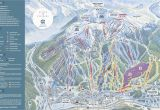 Michigan Ski areas Map Copper Mountain Resort Trail Map Onthesnow