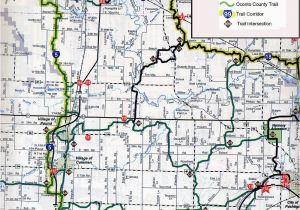 Michigan Snowmobile Trail Map Coleman Wi Brap Pinterest Maps