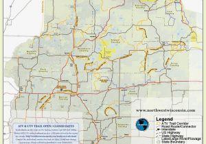 Michigan Snowmobile Trail Map Nw Wisconsin Atv Corridor 4 Wheeling Pinterest