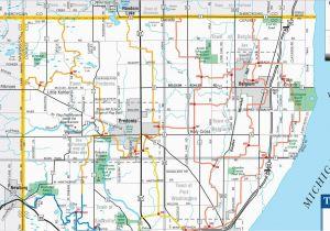 Michigan Snowmobile Trail Map Ozaukee County Wi Full Brap