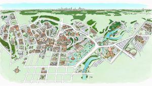 Michigan State Parking Map Michigan State University Map Inspirational Iowa State University
