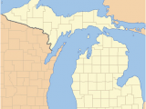 Michigan Thumb area Map List Of Counties In Michigan Wikipedia
