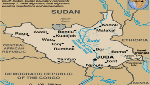 Michigan Triangle Map the Map Of south Sudan Showing the Location Of Juba sources Adopted