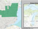Michigan Voting District Map Michigan S Congressional Districts Revolvy