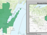 Michigan Voting District Map Wisconsin S 8th Congressional District Wikipedia