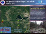 Michigan Wind Speed Map Four Confirmed tornadoes August 28th Severe Weather Summary