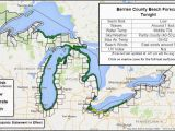 Michigan Wind Speed Map Great Lakes Beach Hazards Page