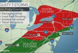 Michigan Wind Speed Map Severe Storms isolated tornadoes to Threaten Damage In northeastern Us