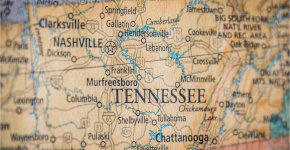 Middle Tennessee Map with Cities Old Historical City County and State Maps Of Tennessee