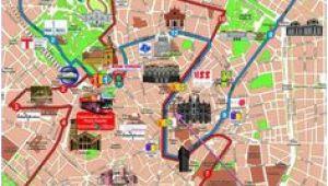 Milan Italy Map tourist 9 Best Milan Map Images Milan Map Cartography Drawings