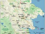Mill Valley California Map Map Of Marin Directions