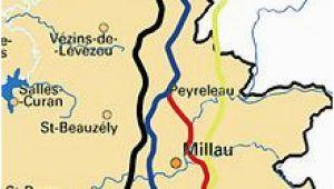 Millau France Map Millau Viaduct Wikivisually