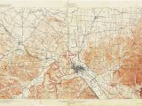 Minerva Ohio Map Ohio Historical topographic Maps Perry Castaa Eda Map Collection