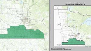 Minnesota Congressional District Map Minnesota S 1st Congressional District Wikipedia
