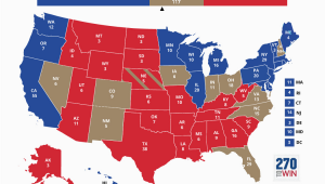 Minnesota Election Map Blue and Red States