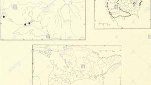 Minnesota Ginseng Map Var R Stockfotos Var R Bilder Seite 4 Alamy