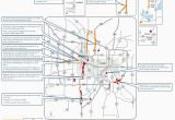 Minnesota Highway Closures Map Closures On I 35w Lane Reductions Throughout Metro area This