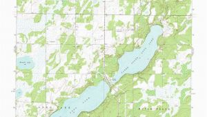 Minnesota Lake Contour Maps south Long Lake topographic Map Mn Usgs topo Quad 46094c1
