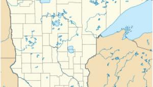 Minnesota Location On Map Minneapolis Wikipedia