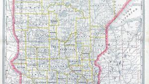 Minnesota Rail Map Minnesota Railroad and County Antique Map 1887 Trend Minnesota