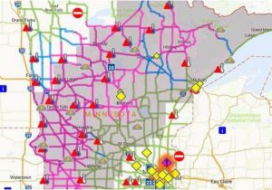 Minnesota Road Conditions Map 511 Iowa Road Map and Travel