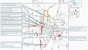 Minnesota Road Conditions Maps Closures On I 35w Lane Reductions Throughout Metro area This Weekend